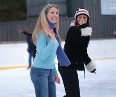 bride ice skate