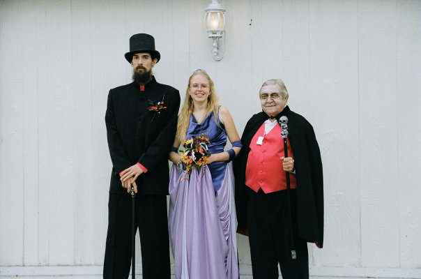 Jamie, Megan and her Grandaddy