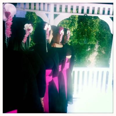 geisha bridesmaid dresses